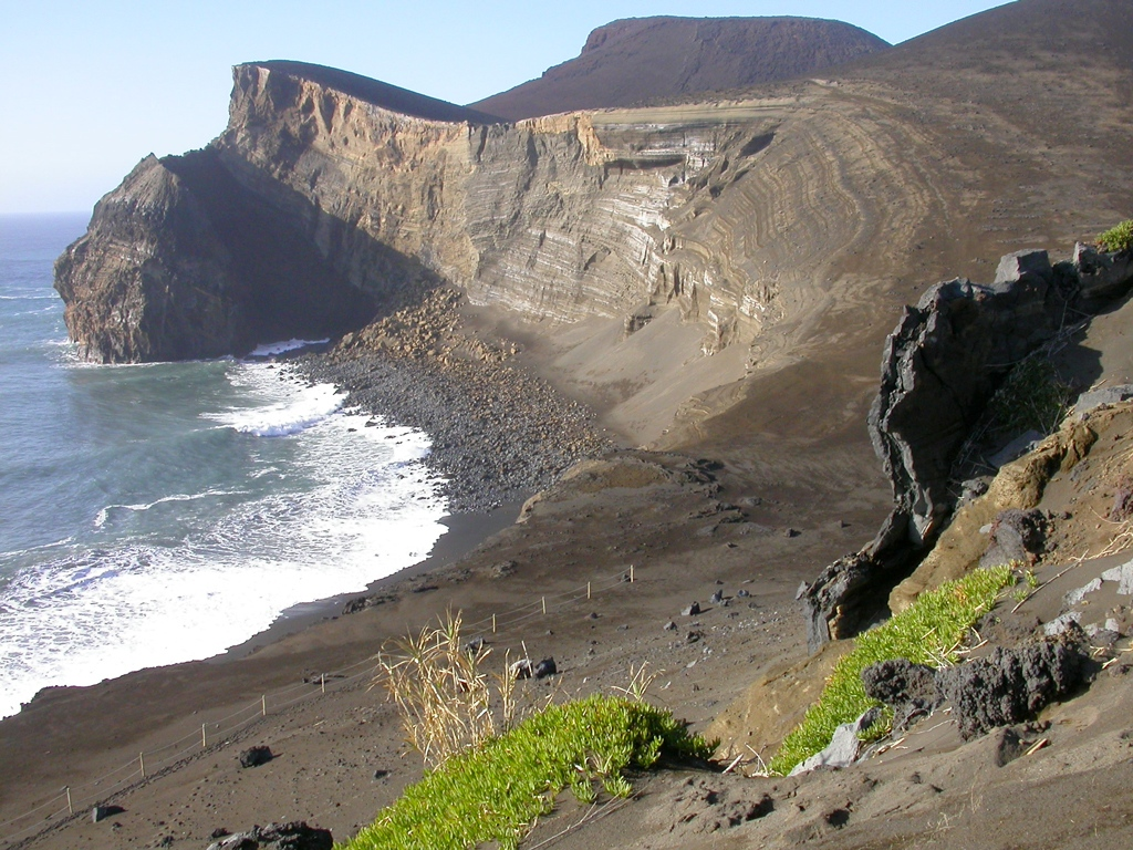 Cliff at Capelhinos, Azores by Bob Ward. Copyright 2014. All rights reserved.