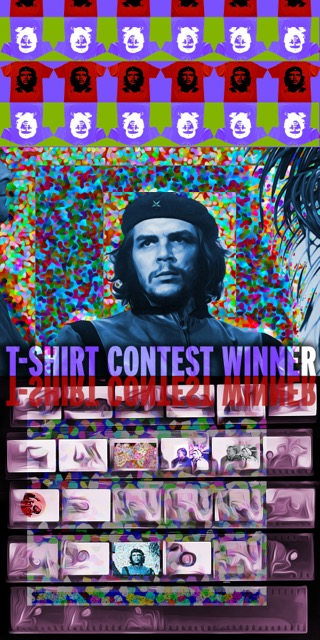 Yolanda V. Fundora, T-Shirt Contest Winnner, digital art, 2015.